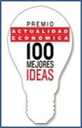 Premios actualidad economica 100 mejores ideas logo